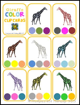 Giraffe Printables 6