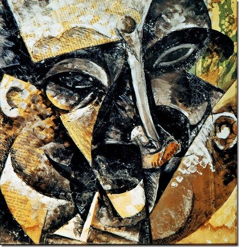 Umberto Boccioni, Stati d'animo quelli che vanno (studio), 1911
