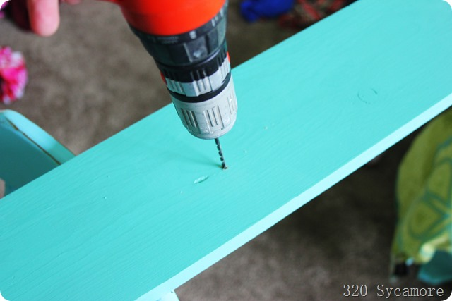 pre drill holes