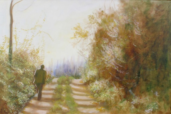 Deym-landscape-painting-man-walking-alone-tuscany