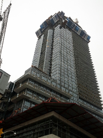 Toronto Skyscraper And Condo Blog Aura Condo Construction
