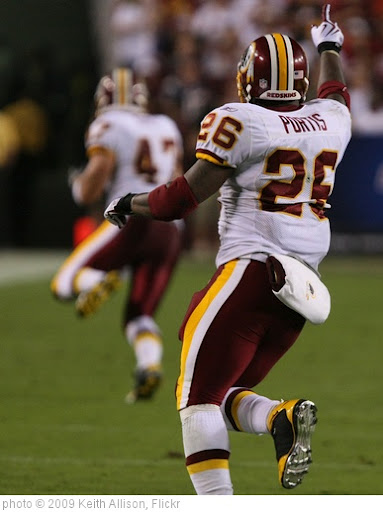 'Clinton Portis' photo (c) 2009, Keith Allison - license: http://creativecommons.org/licenses/by-sa/2.0/