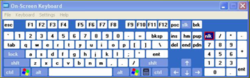 ปลดล็อกพิมพ์ด้านขวาใน keyboard เป็นตัวเลข