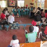 Schoolverlaters met alle ouders/verzorgers