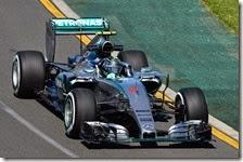 Nico Rosberg nelle prove libere del gran premio d'Australia 2015