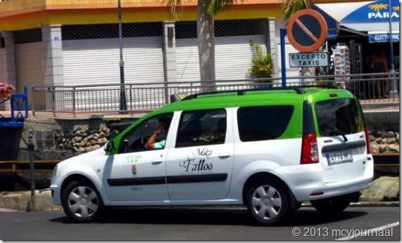 Dacia Logan MCV op Gran Canaria 01