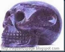 crânio de cristal max do texas