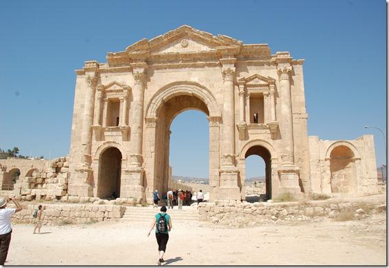 Oporrak 2011 - Jordania ,-  Jerash, 19 de Septiembre  05