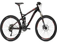 Trek Fuel EX 8 Black Viper Red