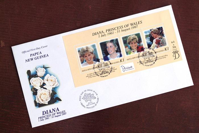 PNG Diana Envelope
