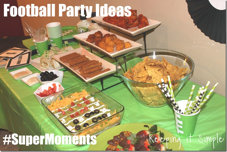 #ad Football-game-ideas #supermoments