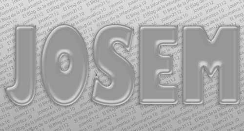 Texto relleno de líquido con Photoshop - opciones fusión capa original