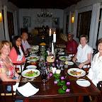 Plantation Lodge, beim Abendessen