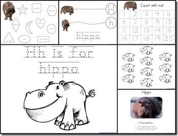 Hh Hippo  Extras