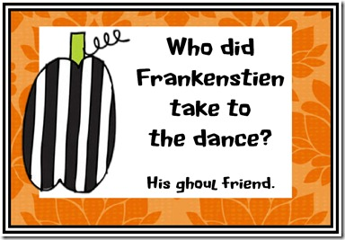 free halloween printables from