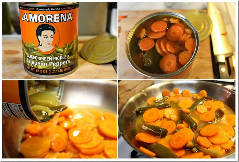 Pickled Carrots Zanahorias en vinagre13