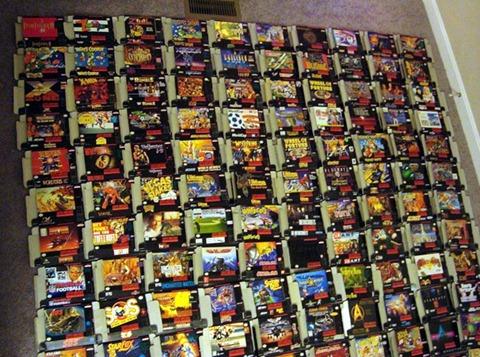 Colección SNES disponible en eBay