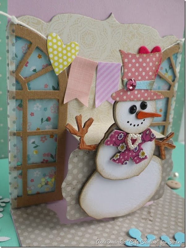 cafe creativo - Anna Drai - sizzix big shot - winter birthday card pop up (3)