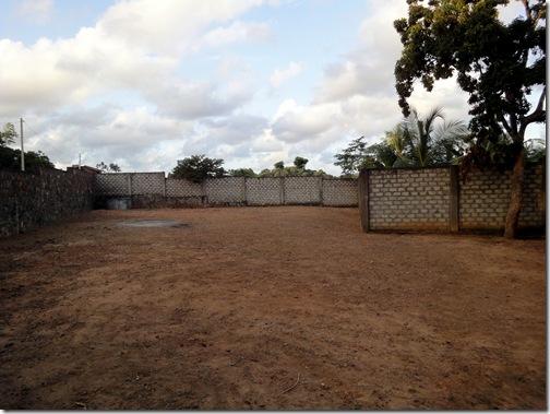Il terreno su cui sorger la scuola