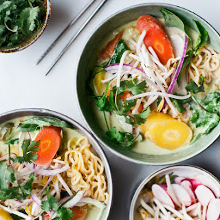 THAI GREEN CURRY RAMEN