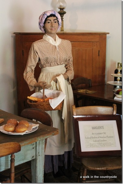 destrehan plantation - the kitchen
