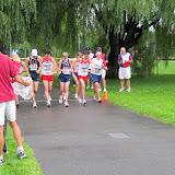 Start of the 10K race walk.