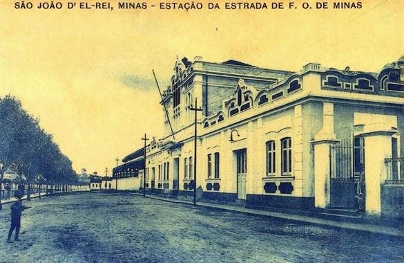 Estação São João del-Rei_Postcard