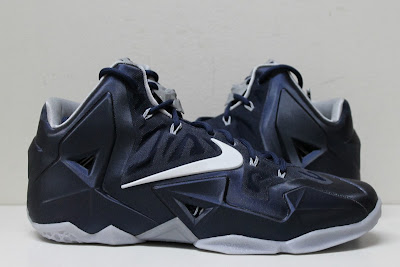 nike lebron 11 pe akron zips 2 01 Closer Look at Nike LeBron 11 Akron Zips PE