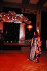 Mónica Parisier lució un impecable kimono y hasta último momento se encargó de todos los detalles