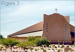 St Elizabeth Anne Seton Church - closer