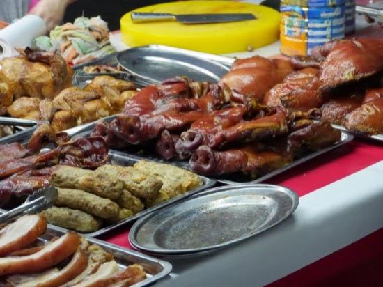Pig snouts - Sibu Night Market