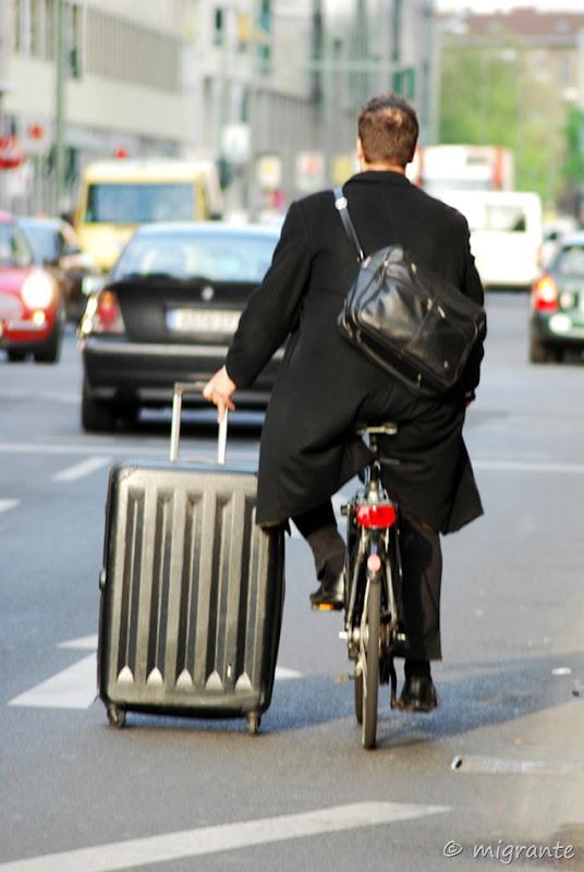 ver para creer, biciclista ingenioso - berlin