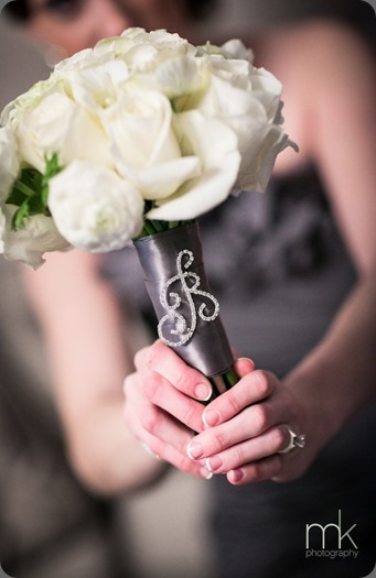 monogram handle Beautiful-Blooms-MK-Photography-Bling-Initials-White-and-Ivory-Bouquet