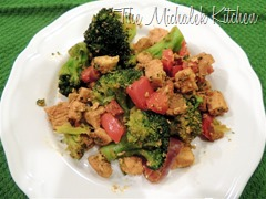 Whole30 Wk1 Curry Chicken Stirfry