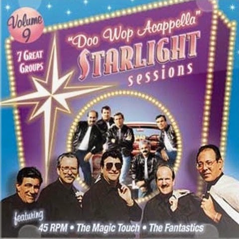 Doo Wop Acappella Starlight Sessions - Volume 09 - Front Cover
