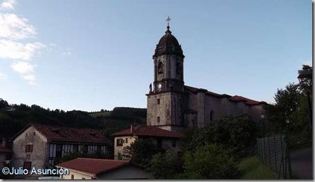 Lesaka - Iglesia