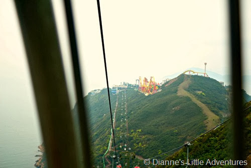 hong kong, ocean park, family, love, mountain, cable car, rides