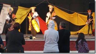 Se firmó un convenio con el Ministerio de Desarrollo Social y en ese marco se ralilzó un evento artístico en la plaza Pereira de San Clemente