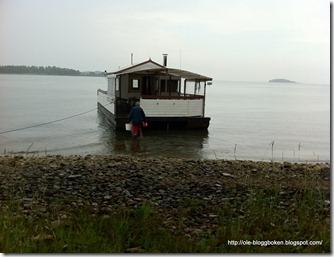 Husbåten Träflyte 1