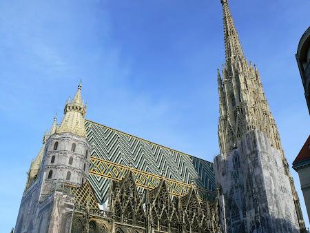 Obiective turistice Viena: Stephansdom, catedrala vieneza