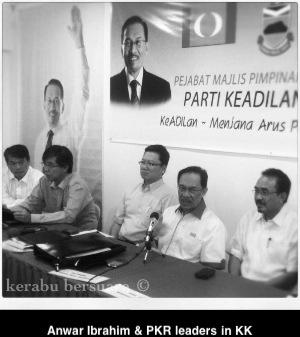 Terkini! Gambar DS Anwar Mempengerusikan Mesyuarat Keadilan Sabah