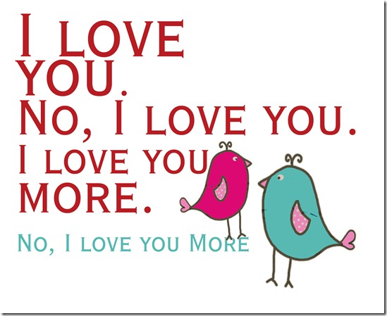 I love you more copy