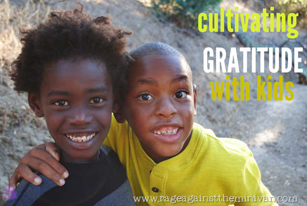 cultivating gratitude n kids