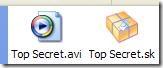 File criptato con Silver Key Free Edition