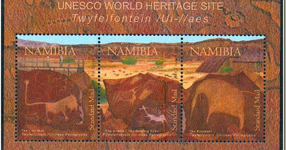 Rainbow stamp club unesco world heritage sites