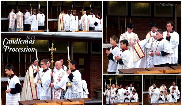 Candlemas Procession collage 2.2.13