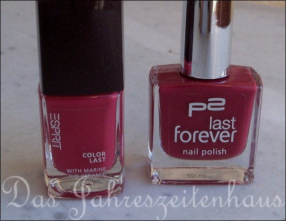 P2 Hold me tight vs Esprit Rose Passion