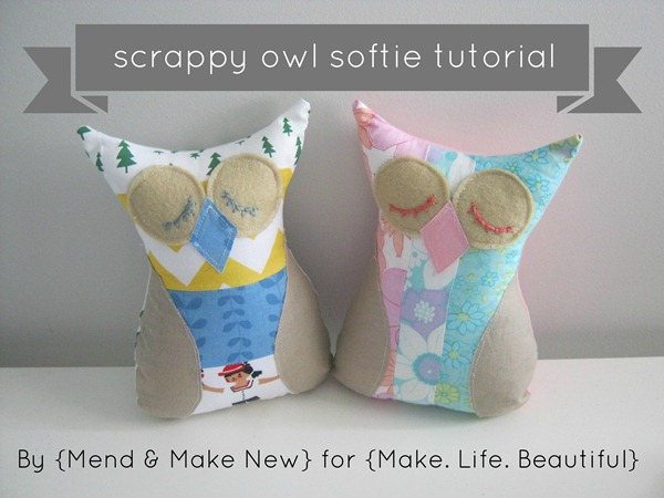 owl softie tutorial
