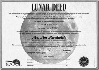venta de terrenos en la luna