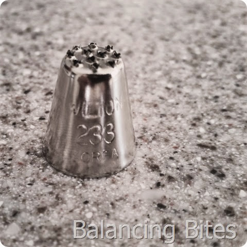 Wilton Tip 233 - Balancing Bites